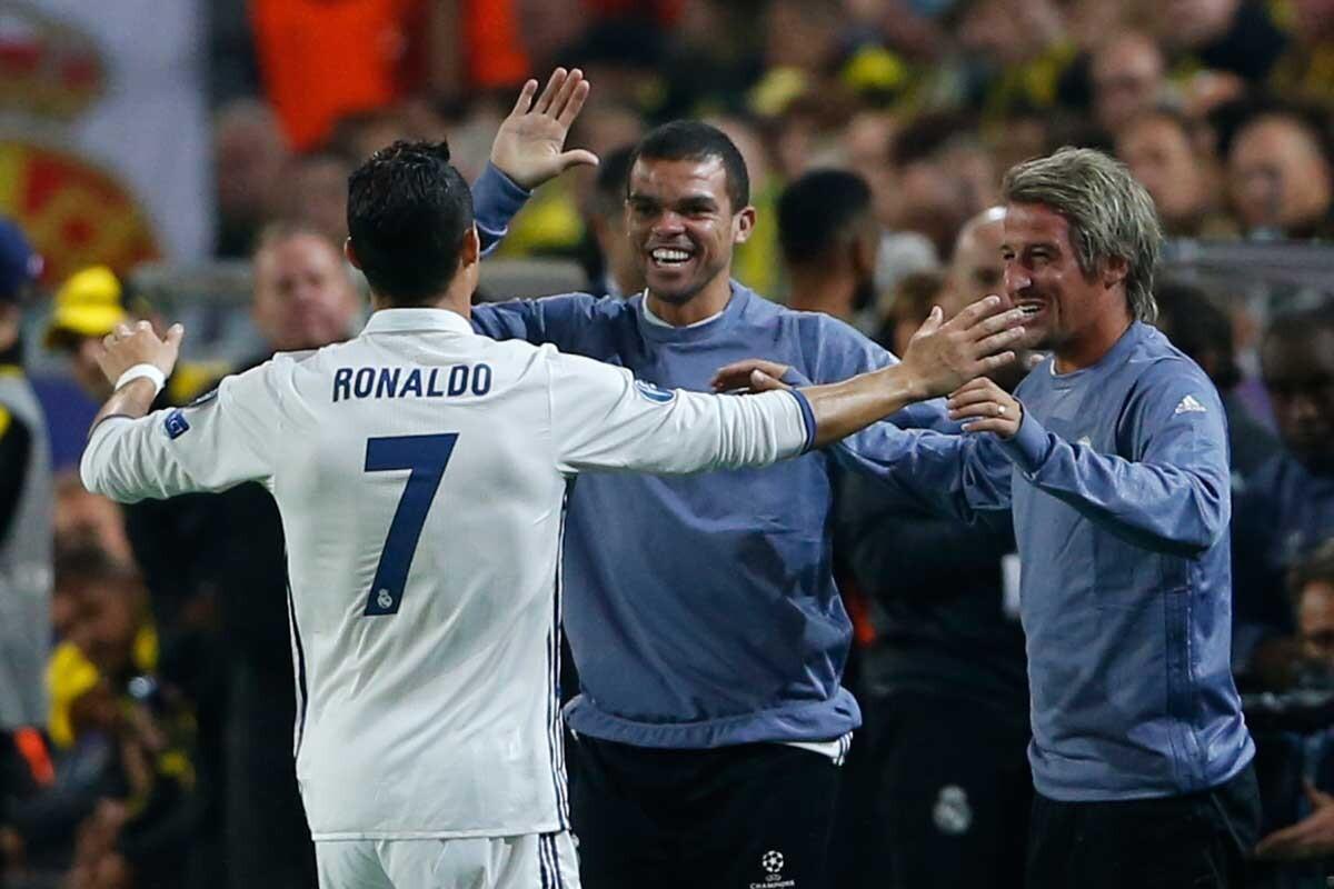 Cristiano Ronaldo, Pepe, Fabio Coentrao
