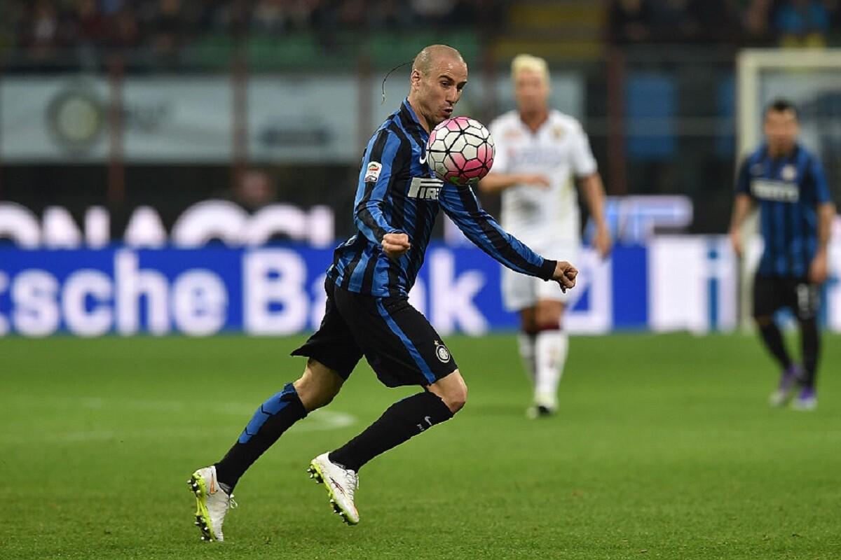 Rodrigo Palacio con el Inter de Milán