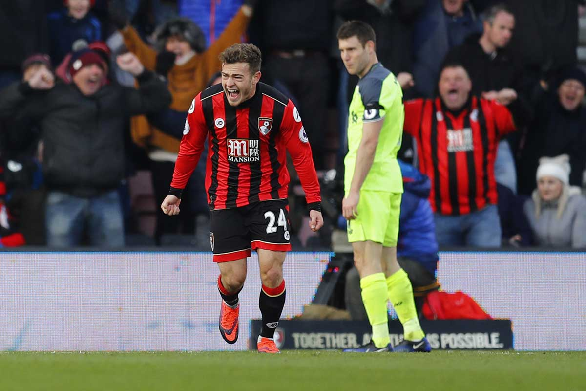 Ryan Fraser, del Bournemouth