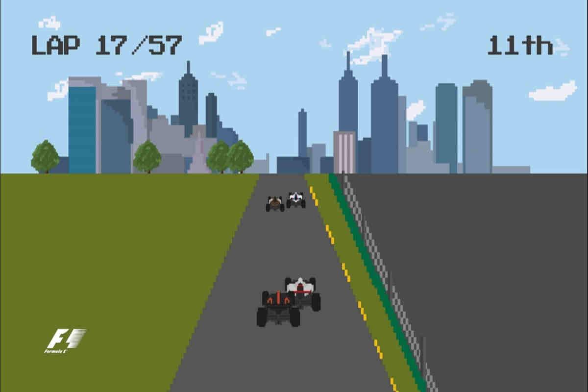 La Fórmula 1 hace un repaso del 2016 con un vídeo en formato 8 bytes