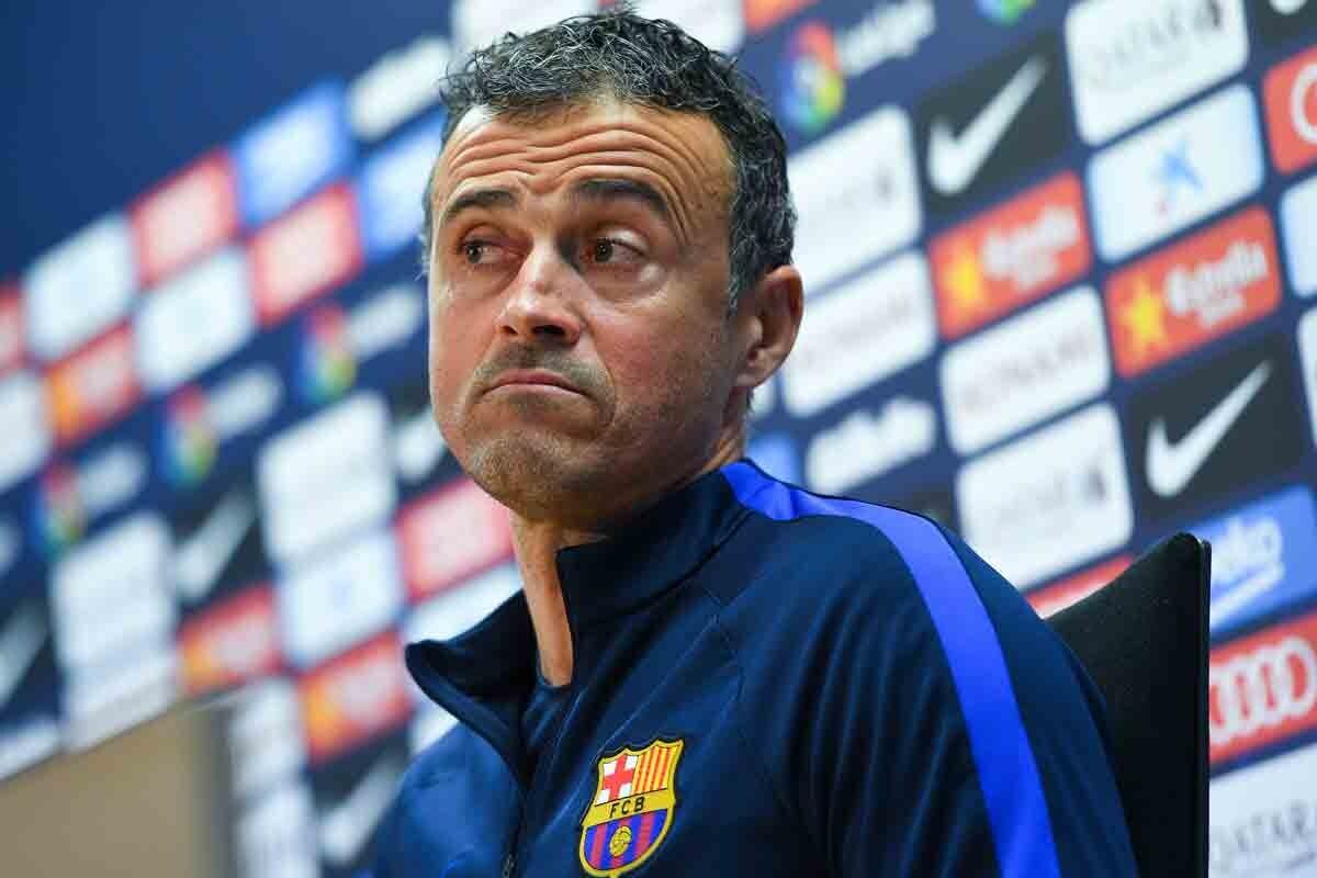"""Luis Enrique: """"Con Iniesta recuperamos posibilidades"""""""