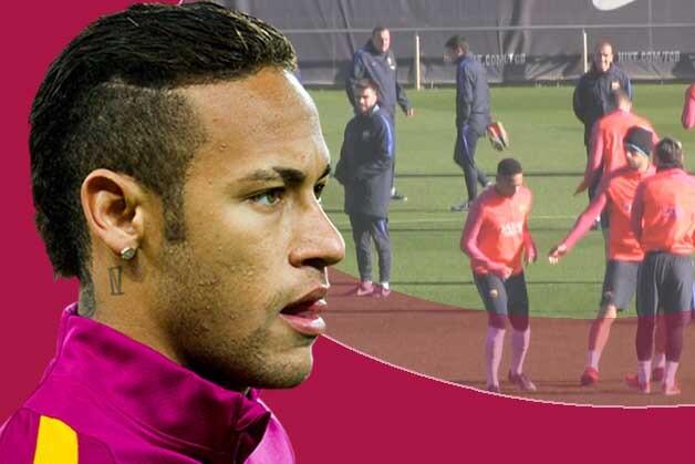 Las bromas de Neymar a Suárez antes del Real Madrid