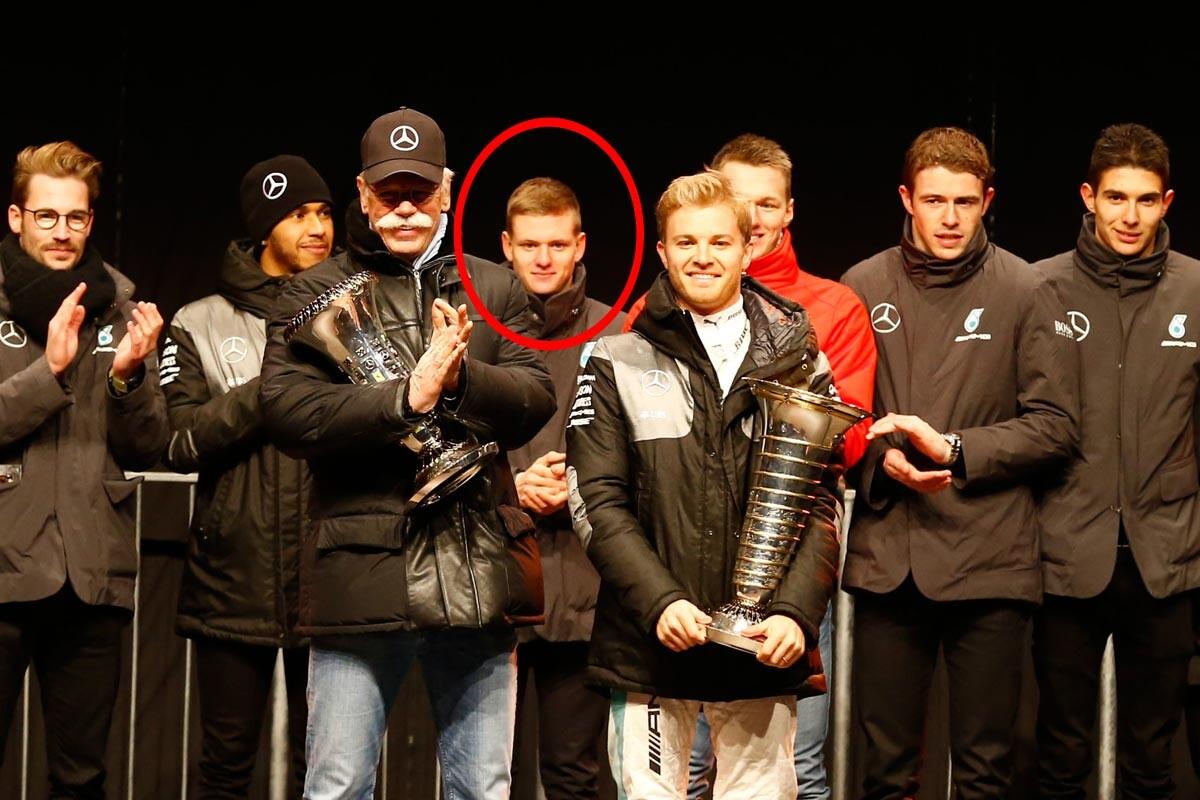 Mick Schumacher con Mercedes