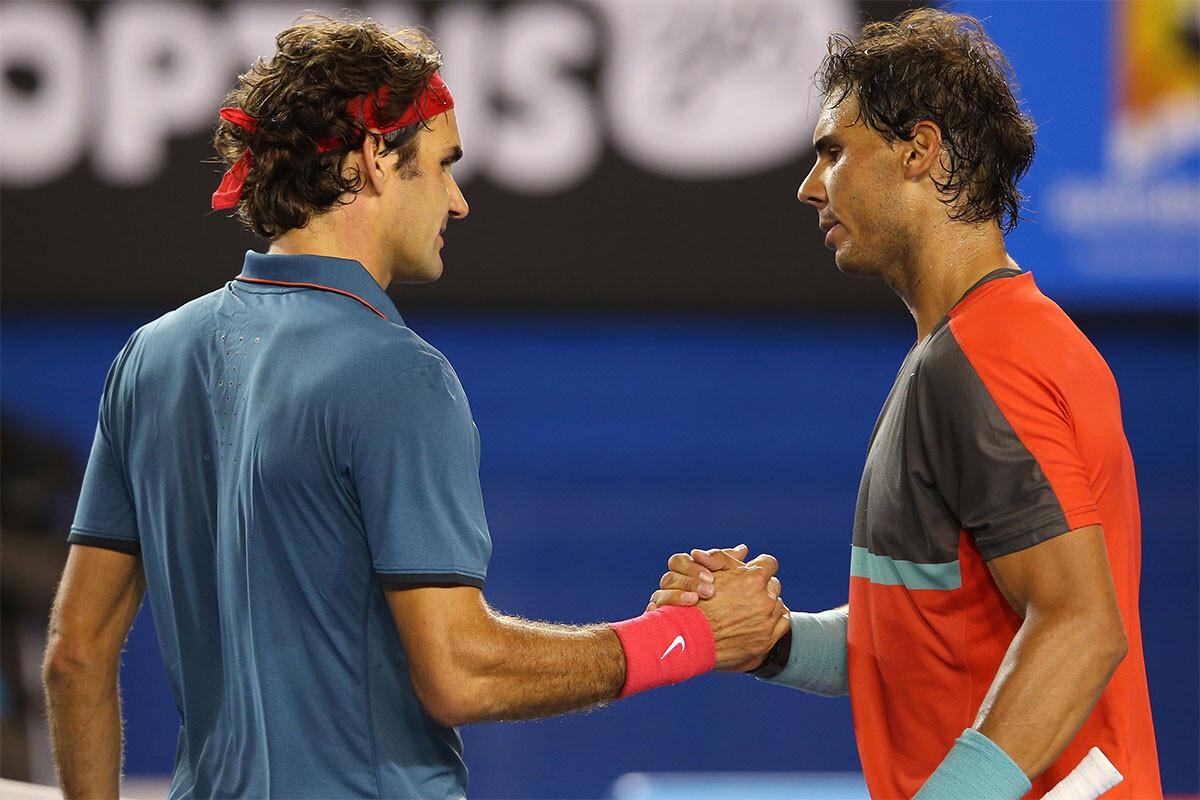 Roger Federer, Rafa Nadal
