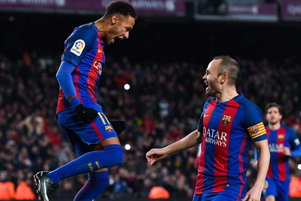 Neymar e Iniesta