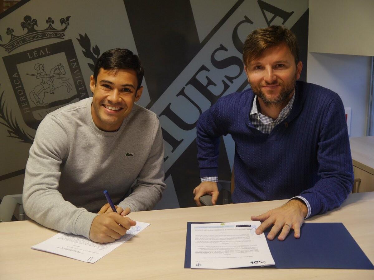 Vinicius Araújo Valencia CF SD Huesca