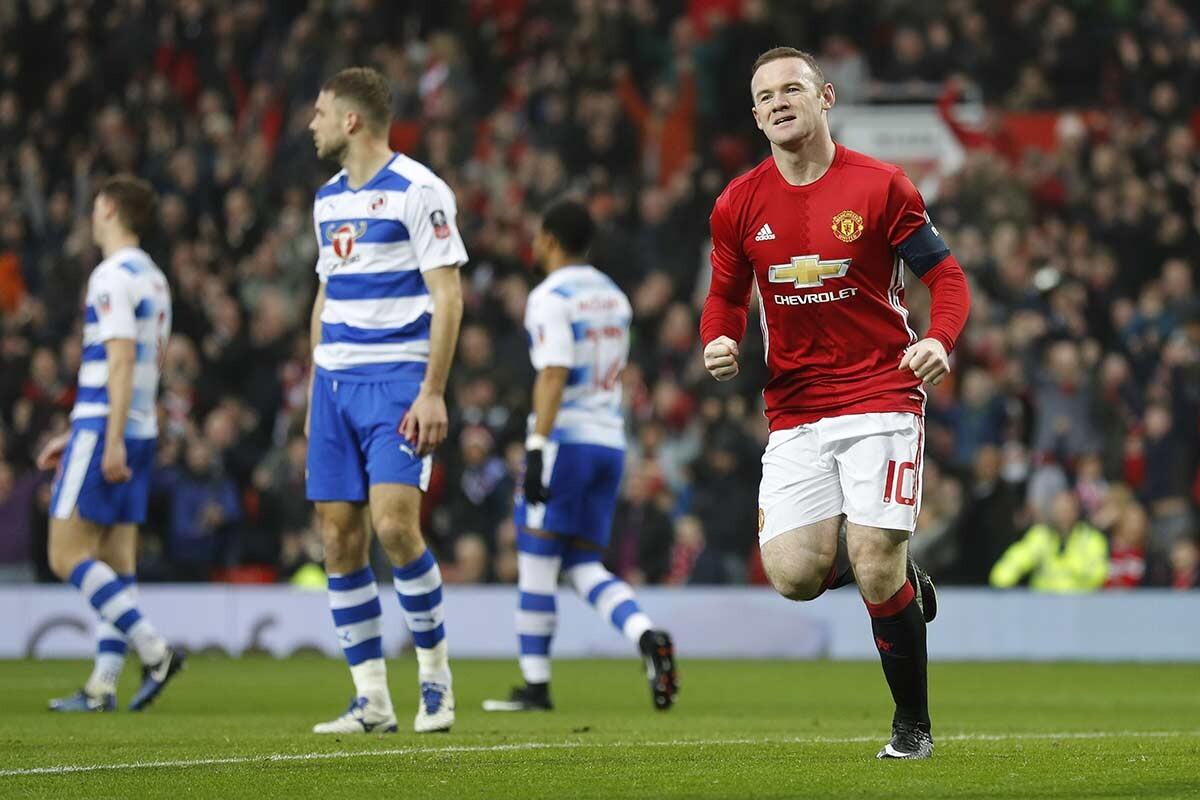 Wayne Rooney, del Manchester United