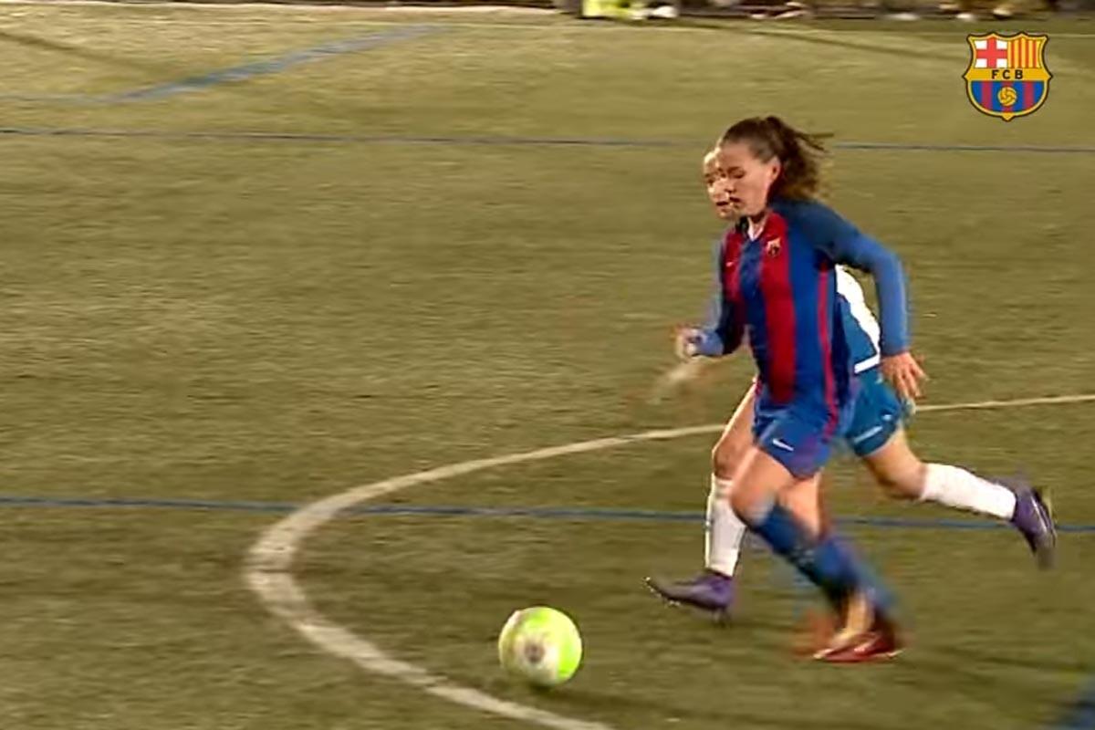 Claudia Pina, delantera del Barcelona