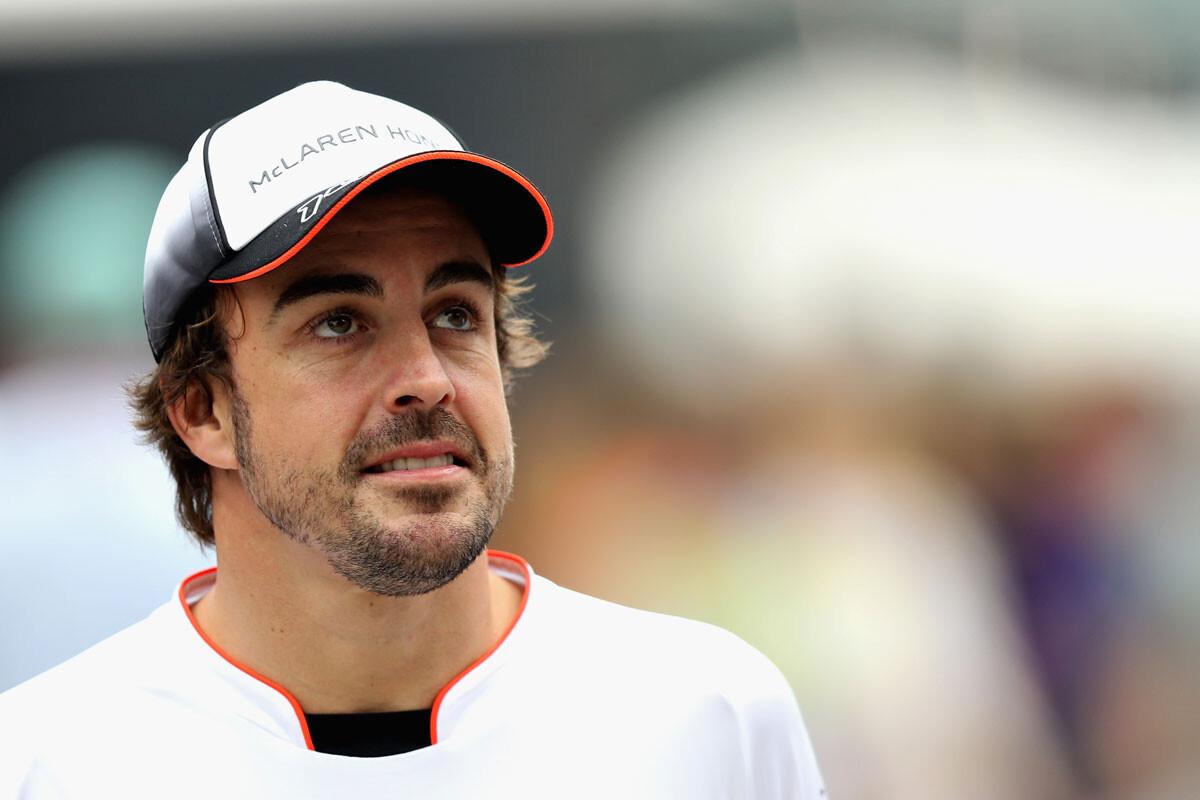 Fernando Alonso, con McLaren
