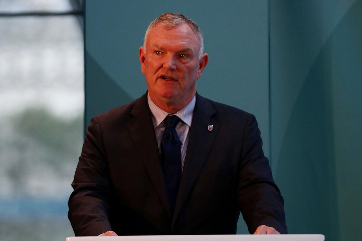 Greg Clarke, presidente de la FA
