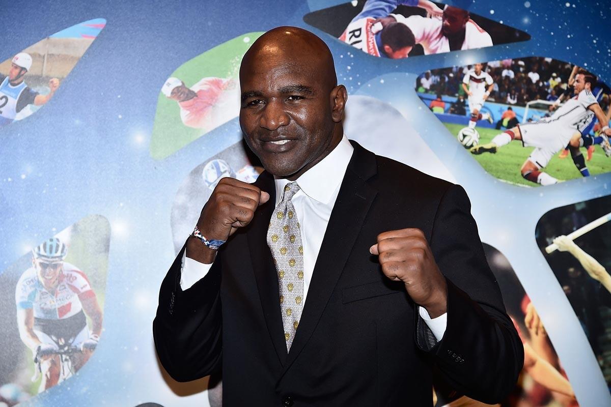 Evander Holyfield, ex boxeador