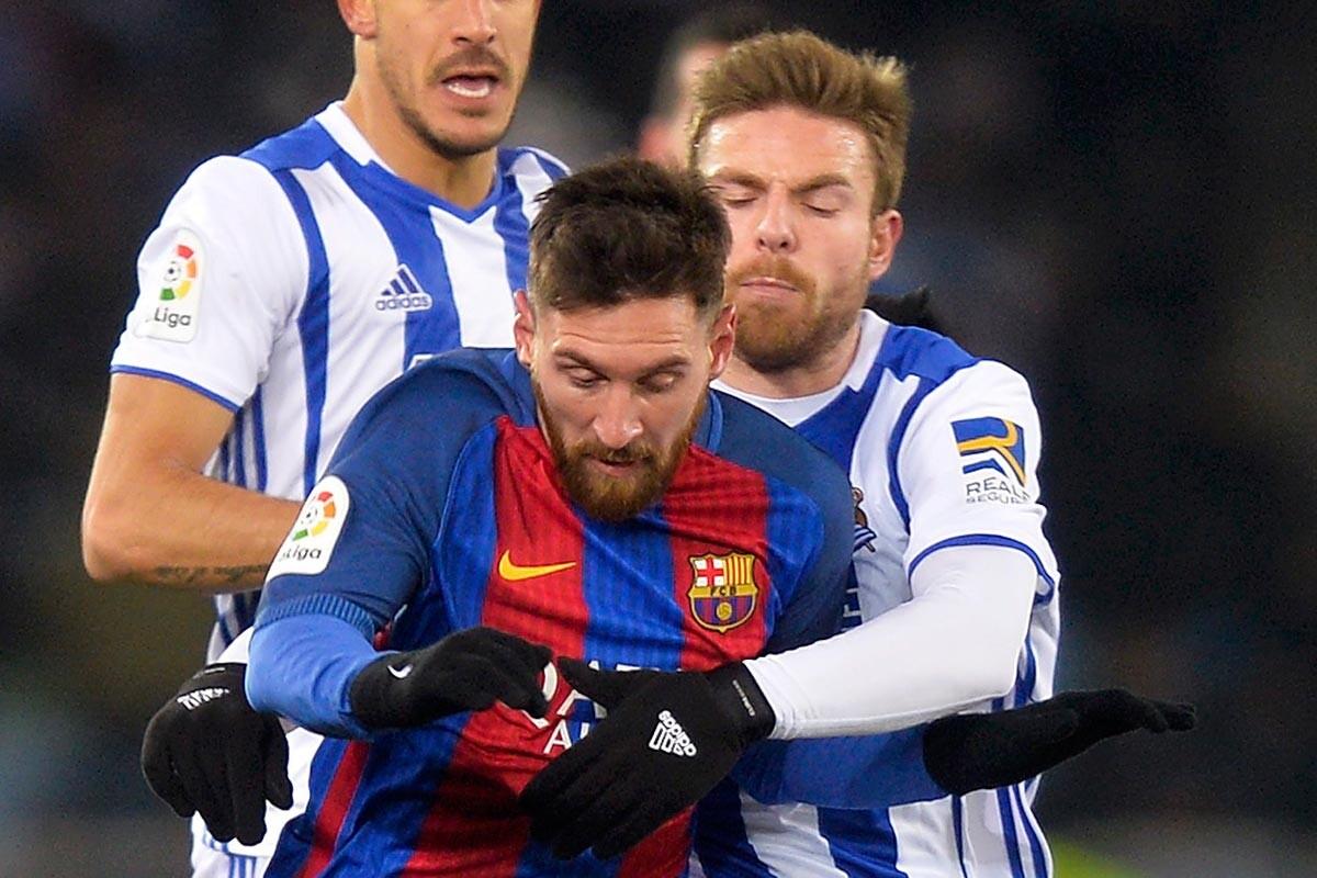 Illarramendi y Messi