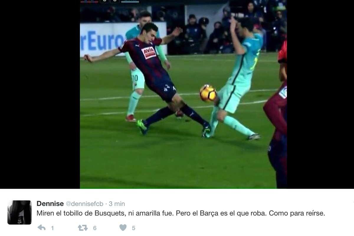Los mejores memes del Eibar-Barça