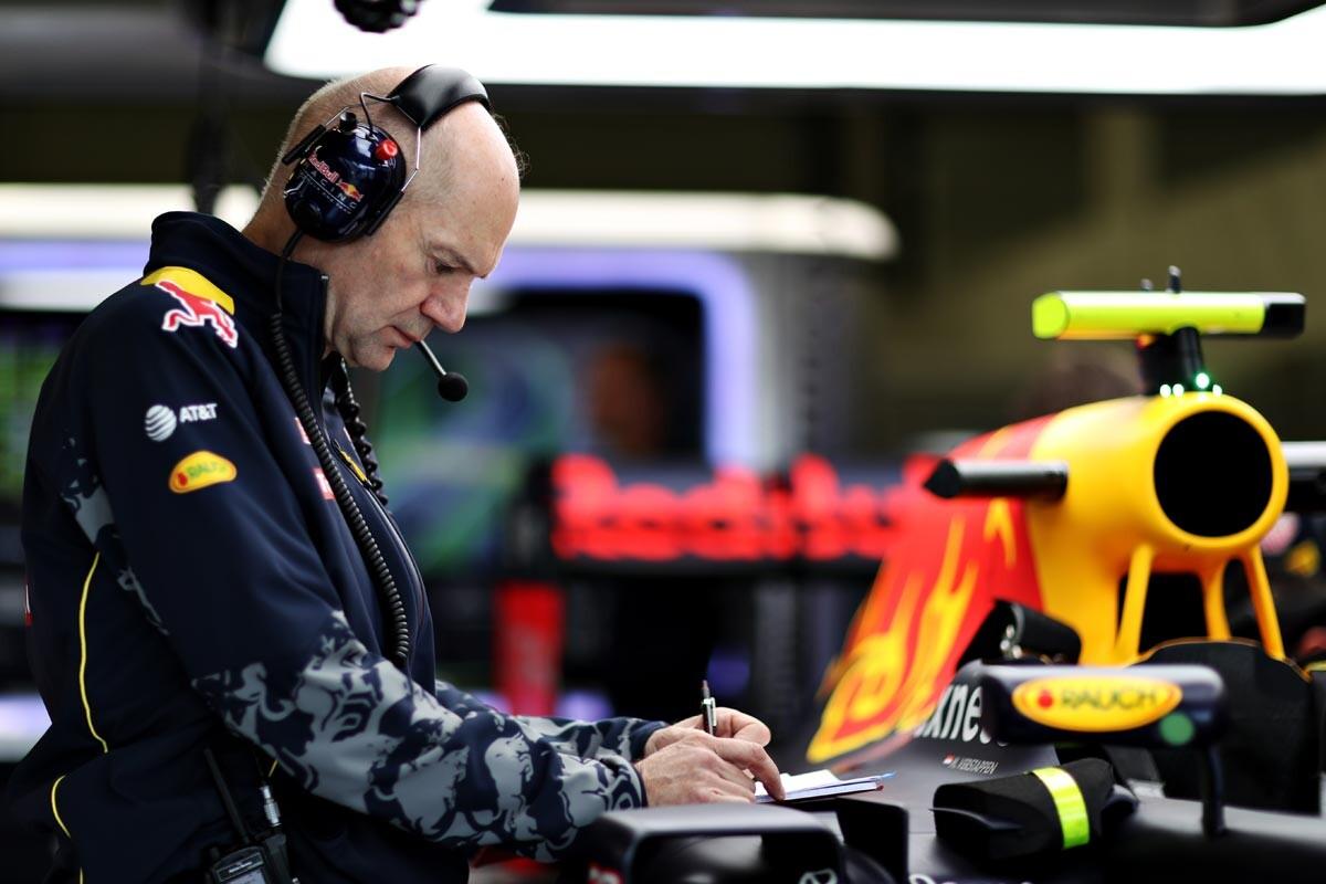 Adrian Newey, diseñador jefe de Red Bull