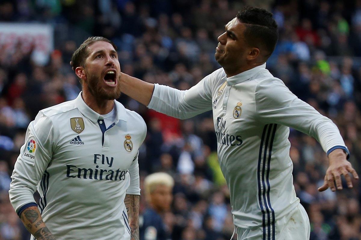 Ramos y Casemiro