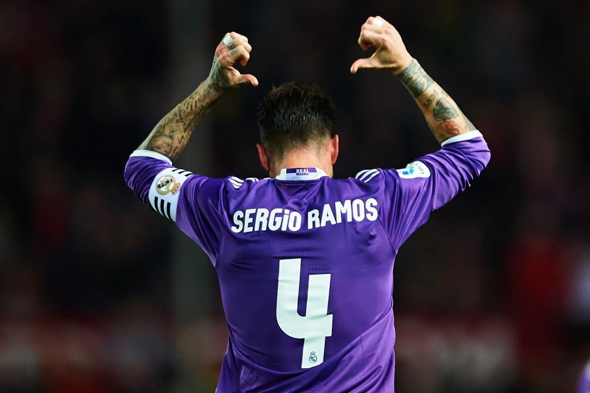 Sergio Ramos ante el Sevilla