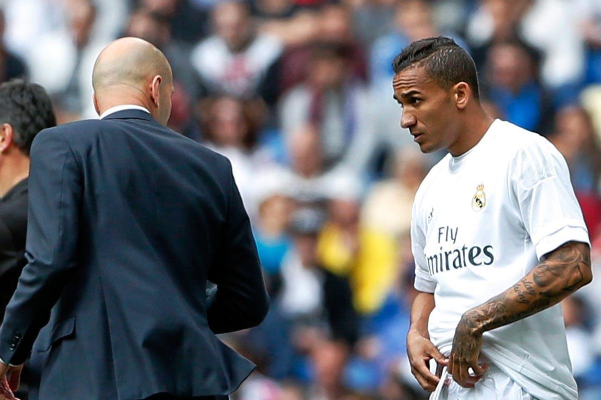 Zidane y Danilo