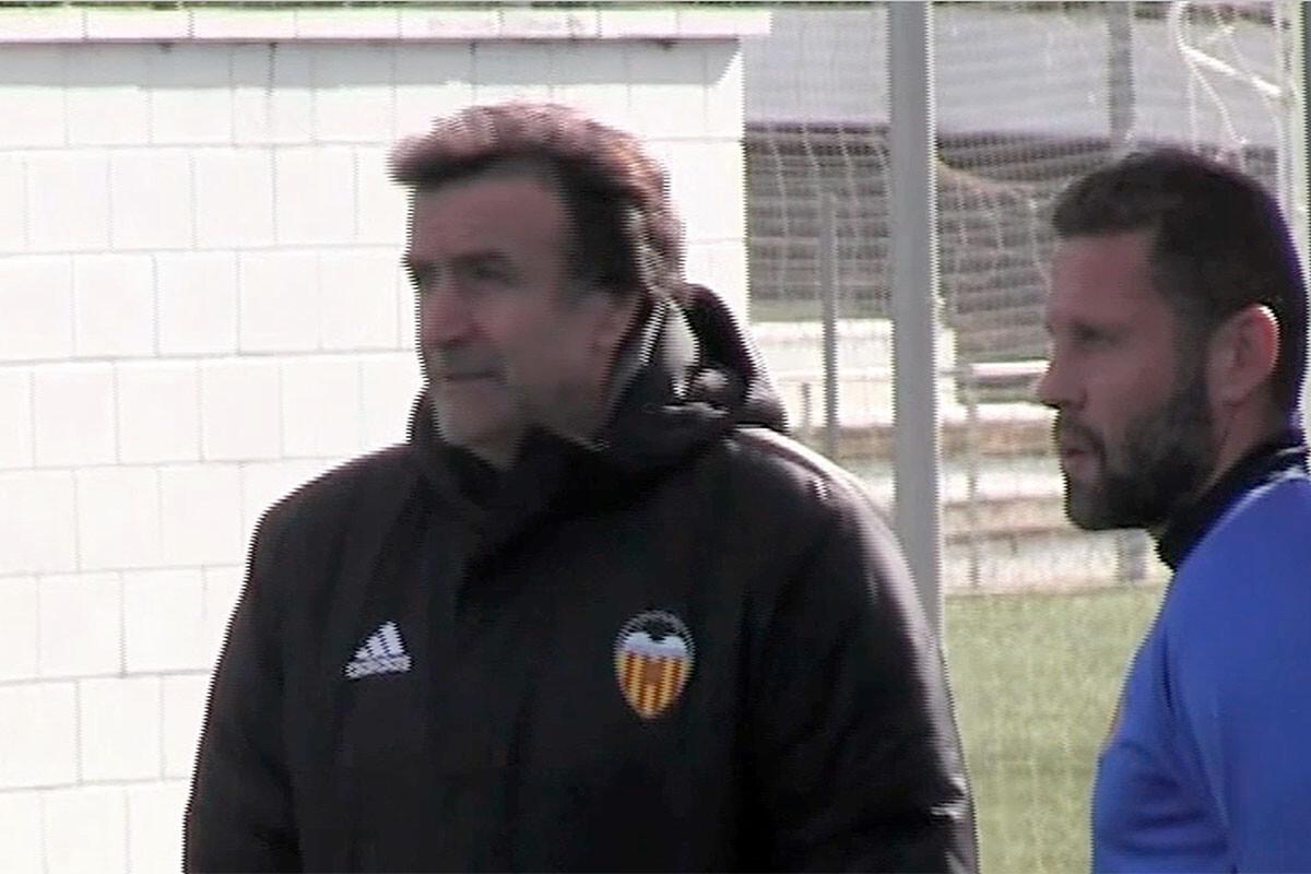 José Ramón Alexanco Curro Torres Valencia CF