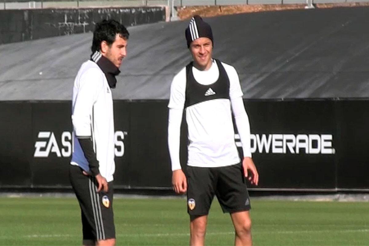 Enzo Pérez Dani Parejo Valencia CF