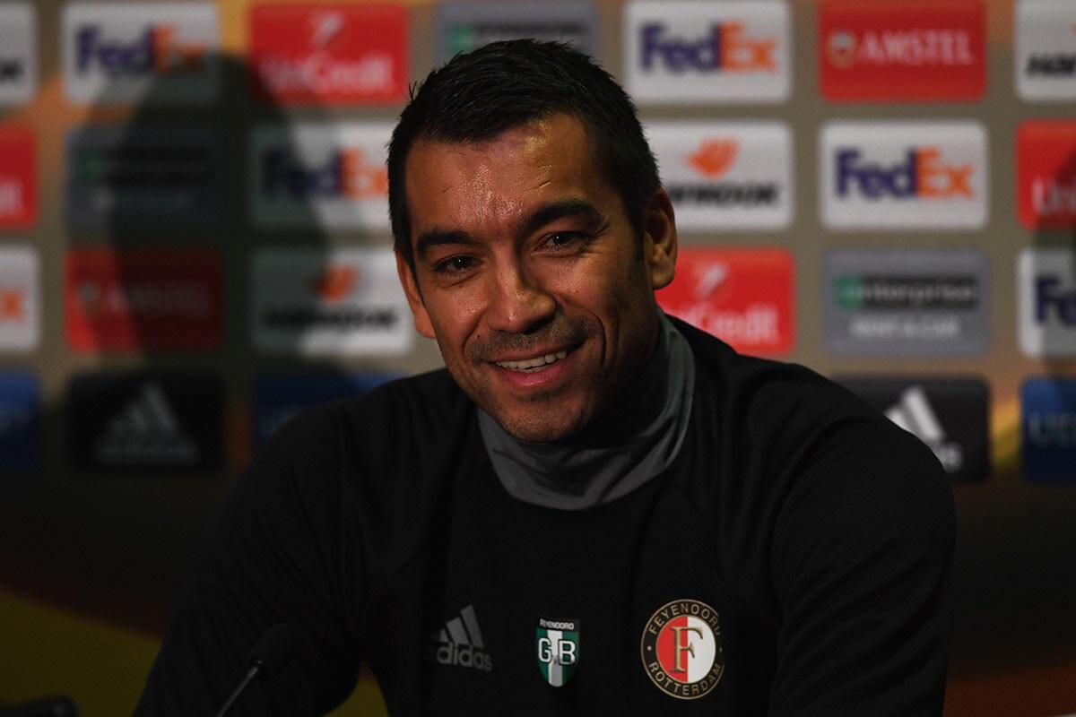 Gio van Bronckhorst, entrenador del Feyenoord