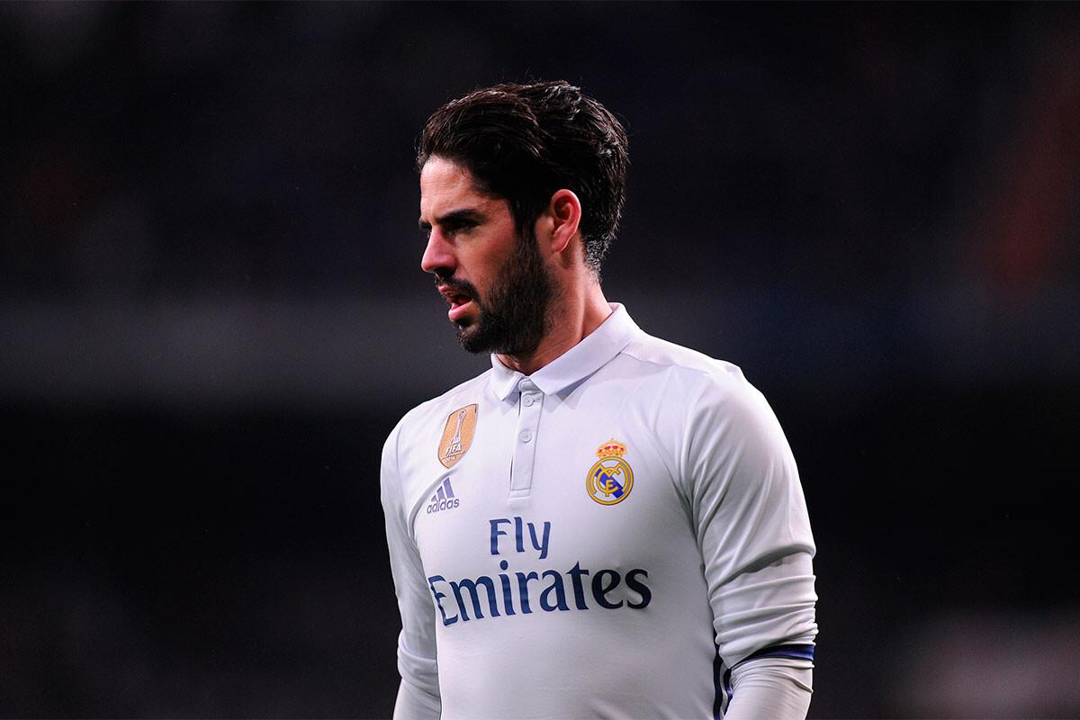 El Real Madrid le da un toque de atención a Isco
