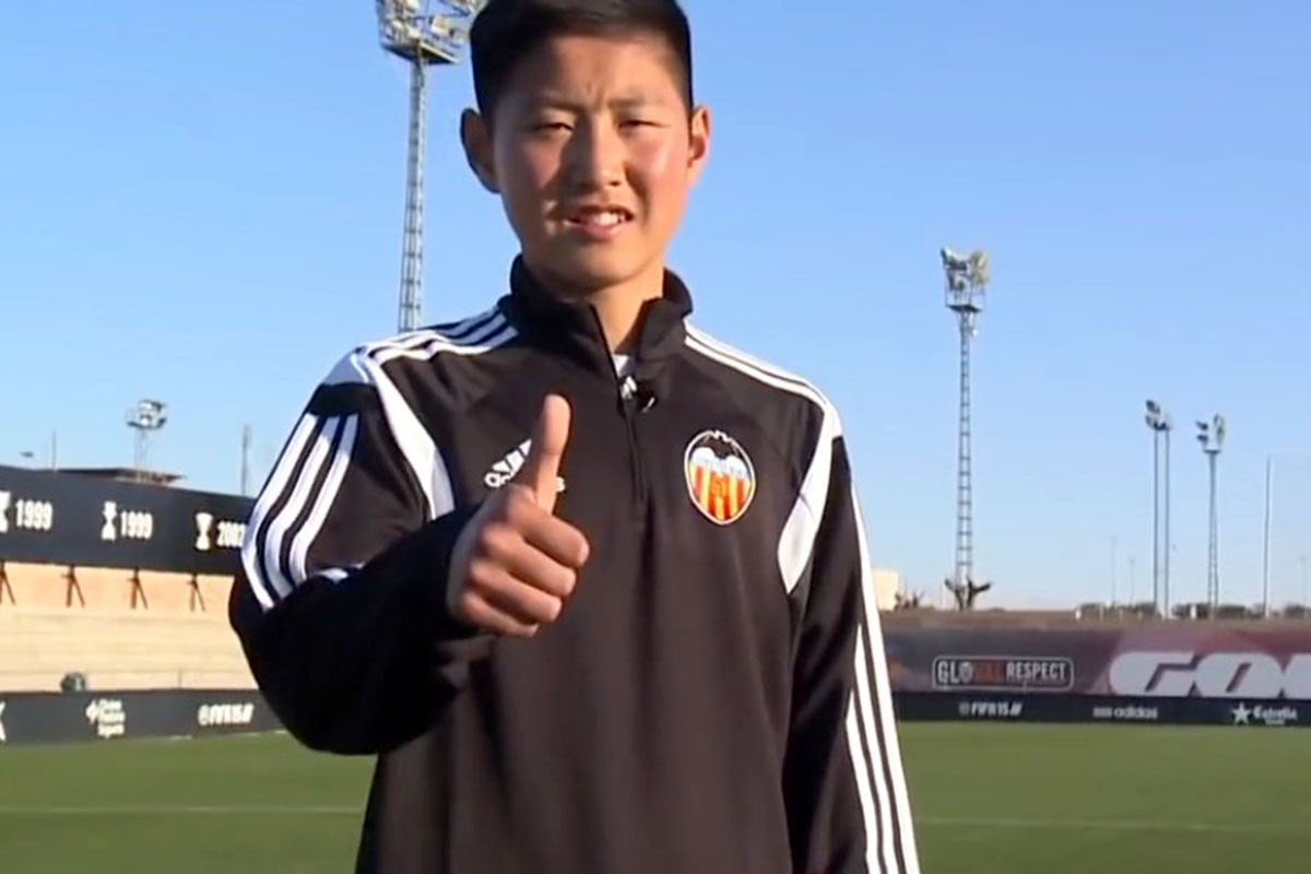 Kangin Lee Valencia CF