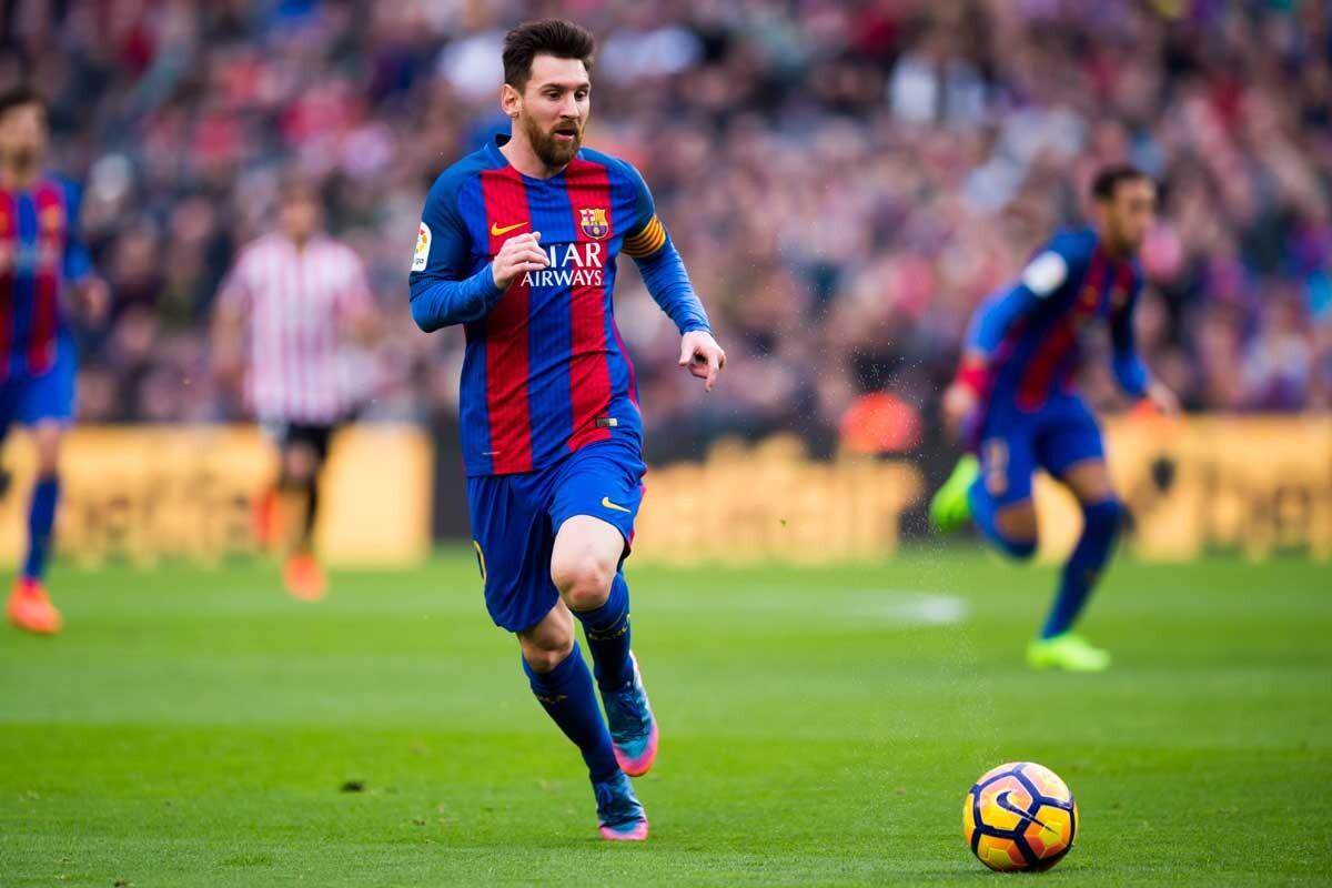 Messi, el incombustible del Barça en 2017