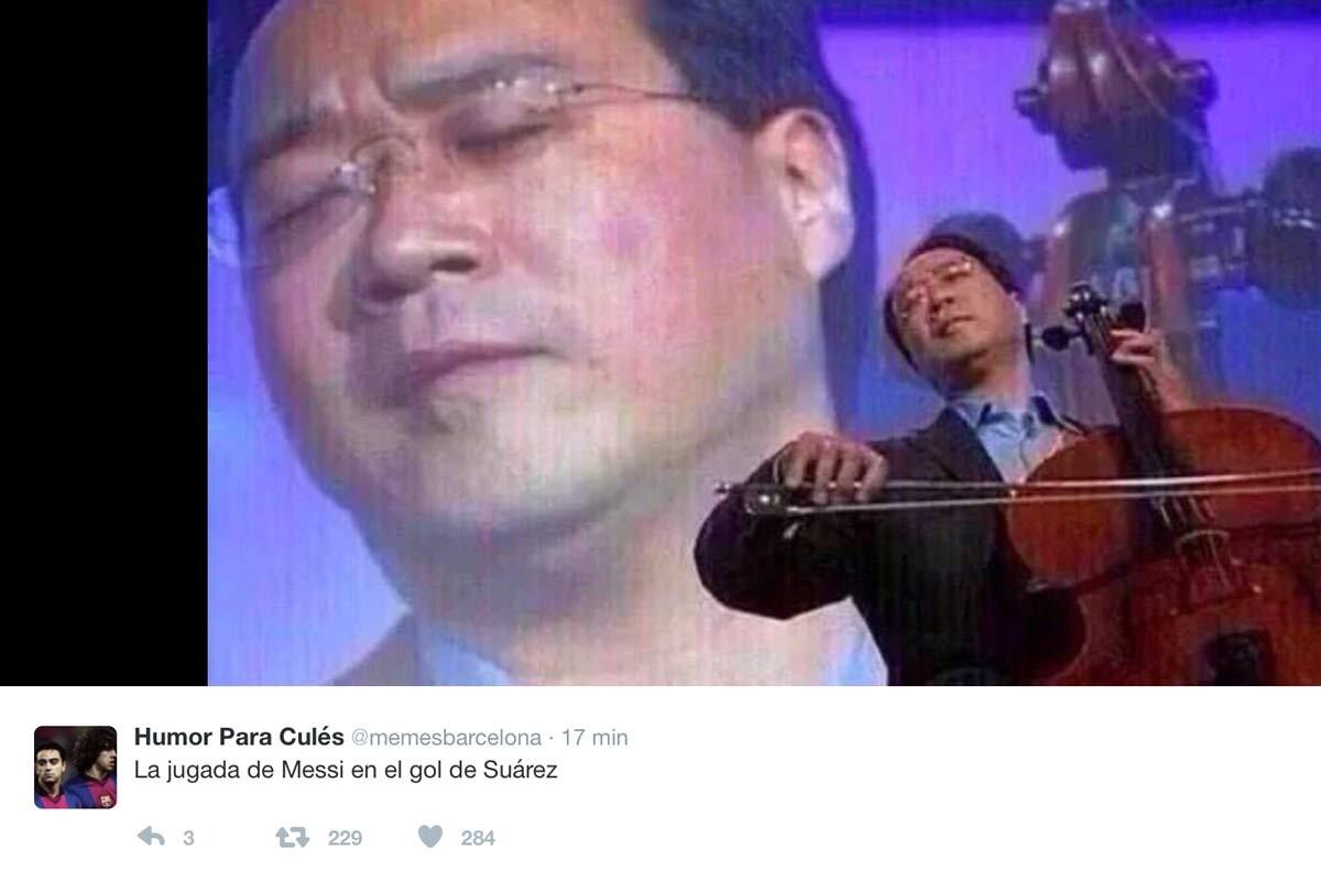 Los mejores memes del Barça-Atlético