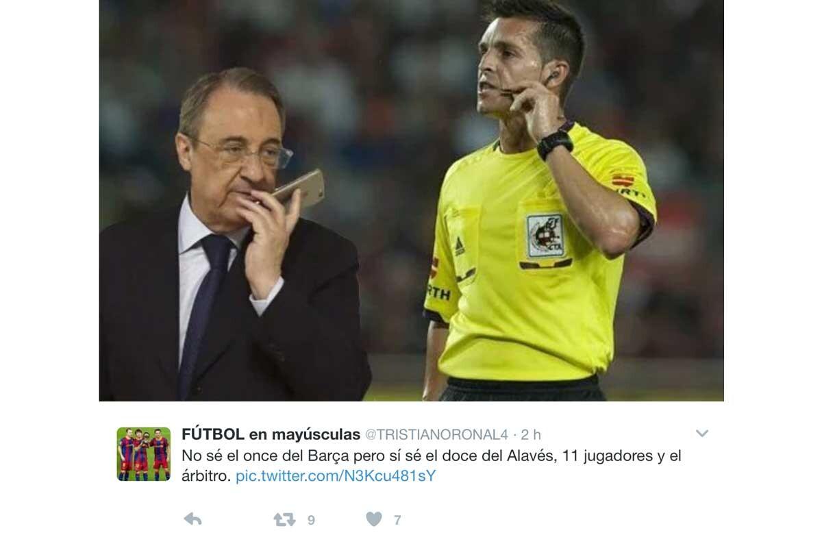 Los memes del Alavés-Barça