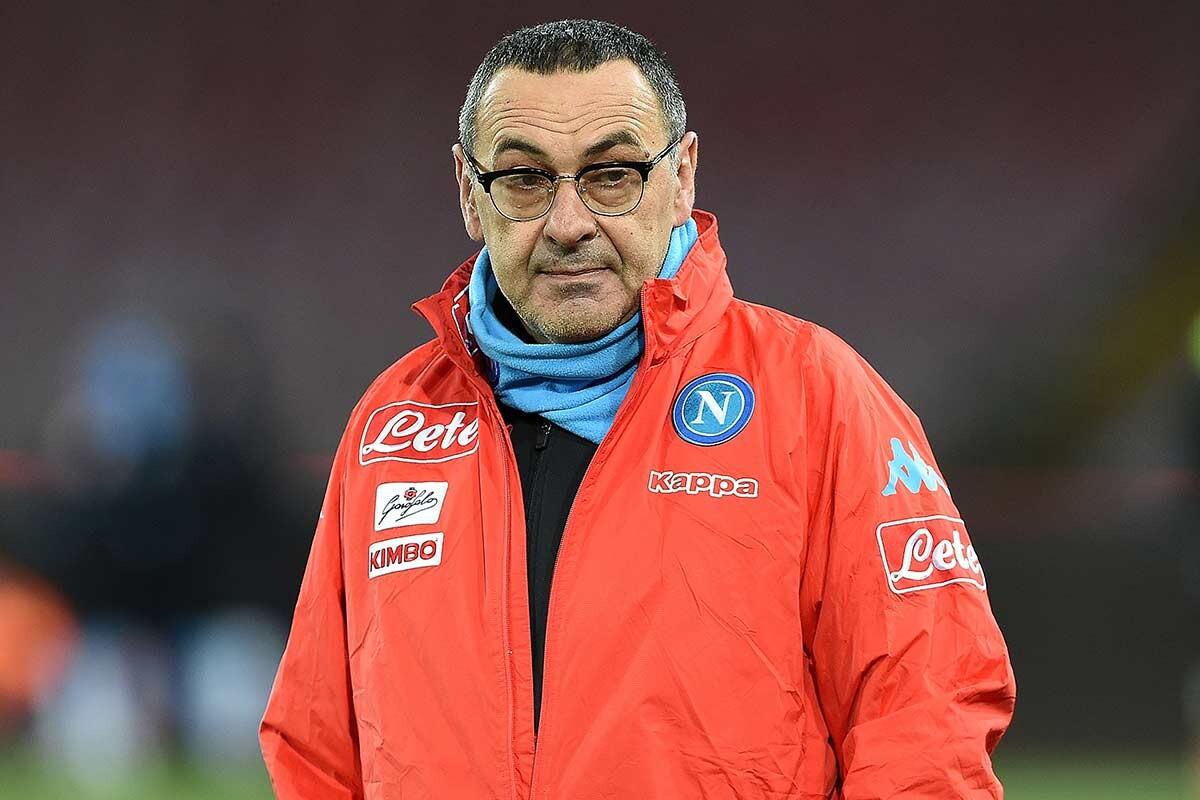 Maurizio Sarri, entrenador del Napoles