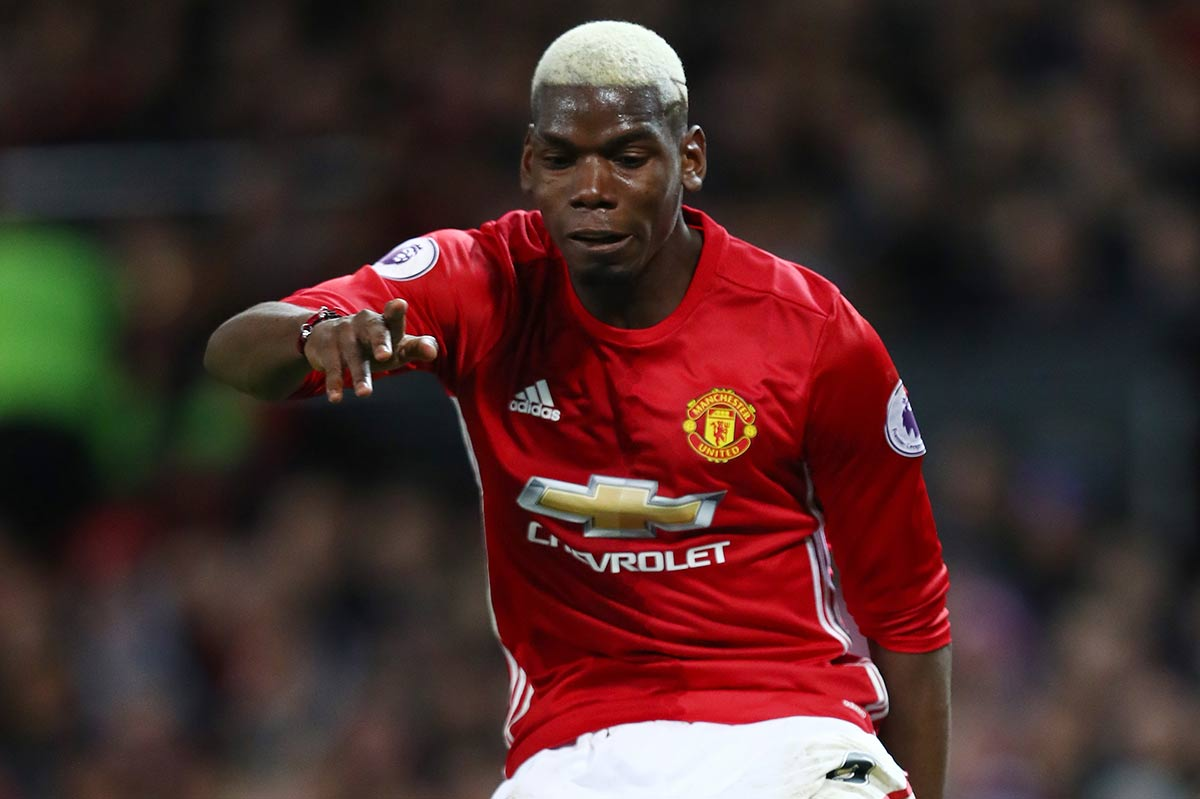 Paul Pogba, del Manchester United