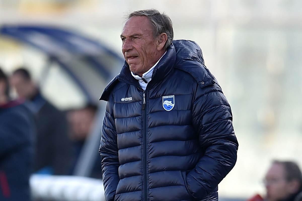 Zdenek Zeman, del Pescara