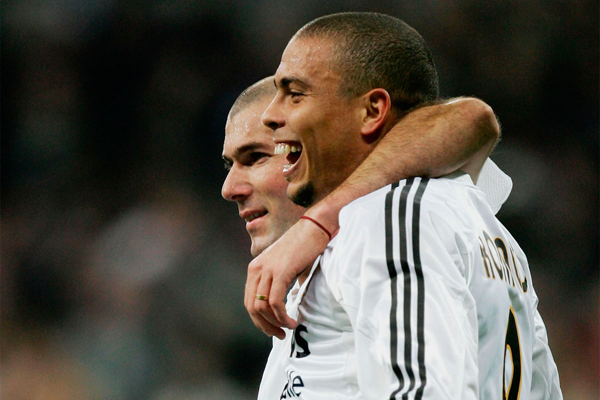 Zinedine Zidane, Ronaldo Nazario