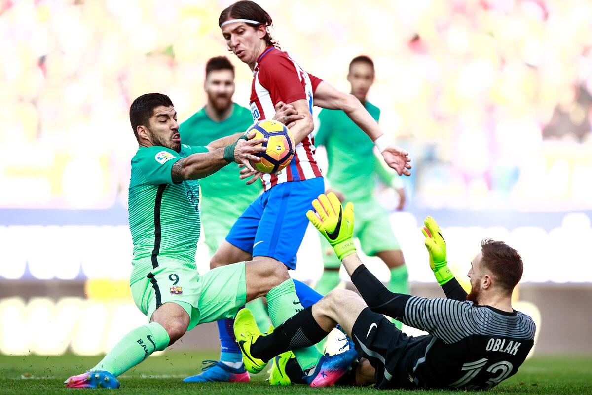 El Atlético – Barça, en imágenes