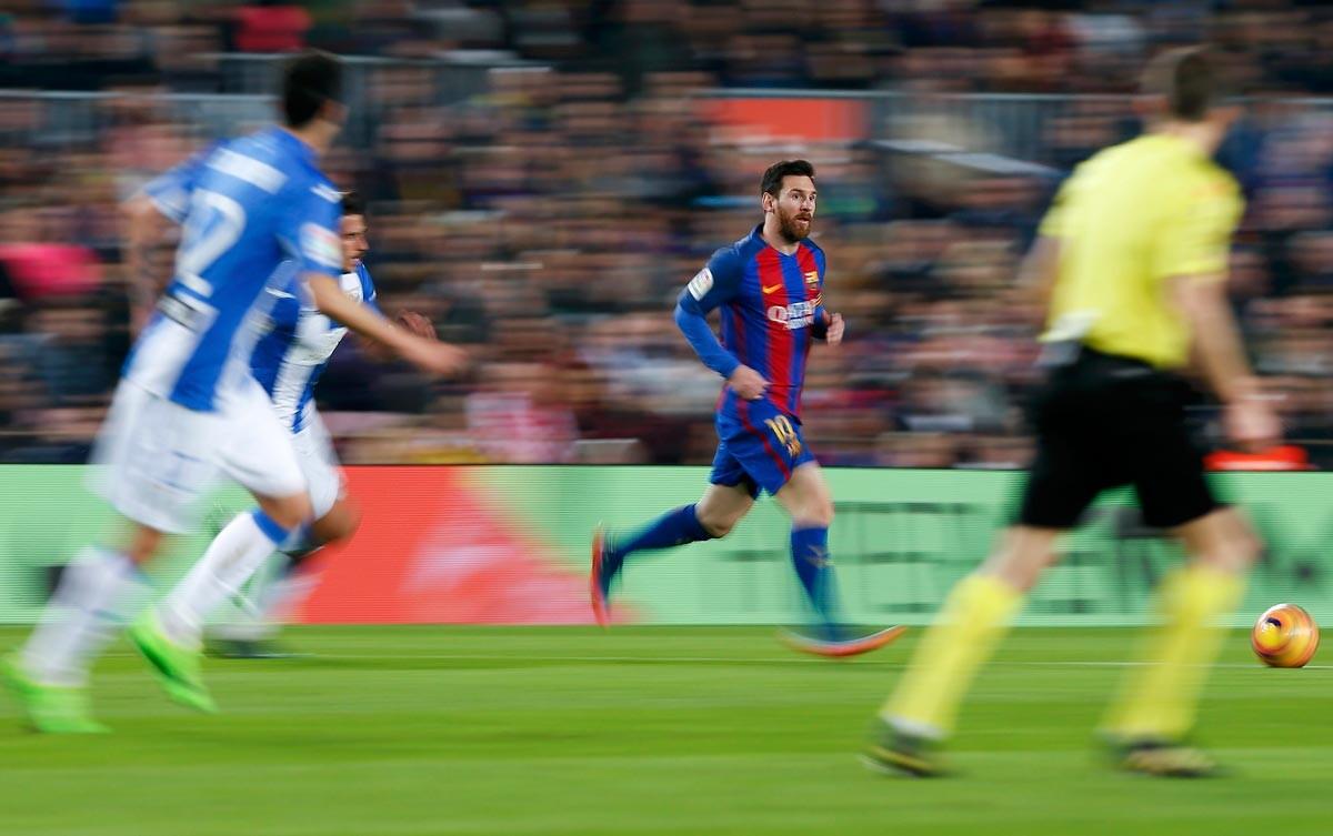 El Barcelona-Leganés, en imágenes