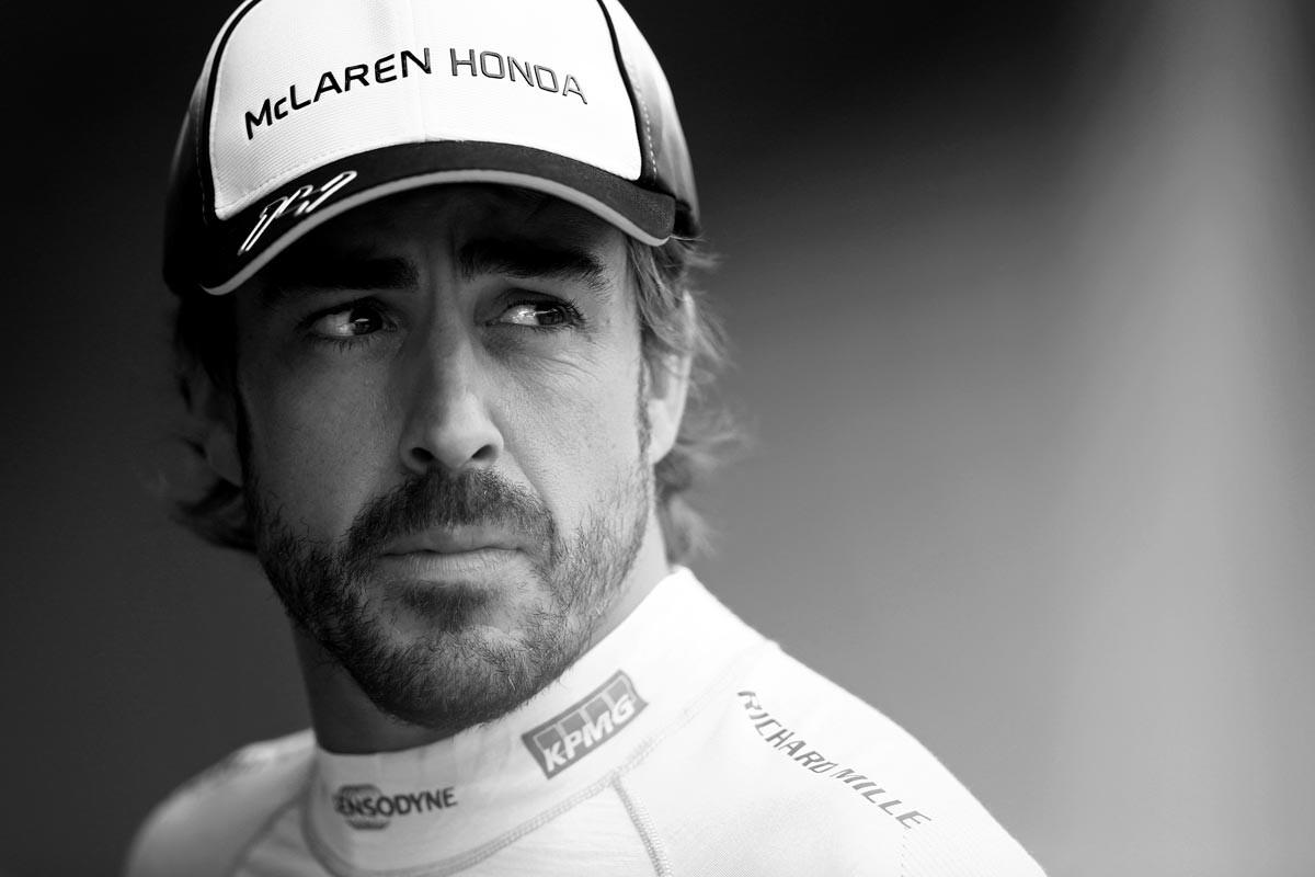 Fernando Alonso, reflexivo
