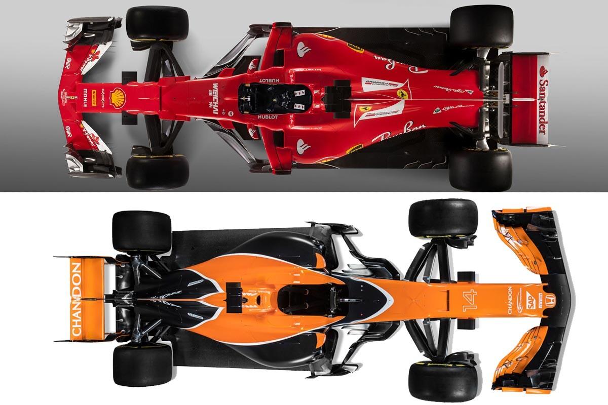 McLaren y Ferrari, dos caminos opuestos