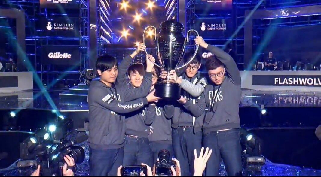 Flash Wolves, campeón en la IEM de Katowice