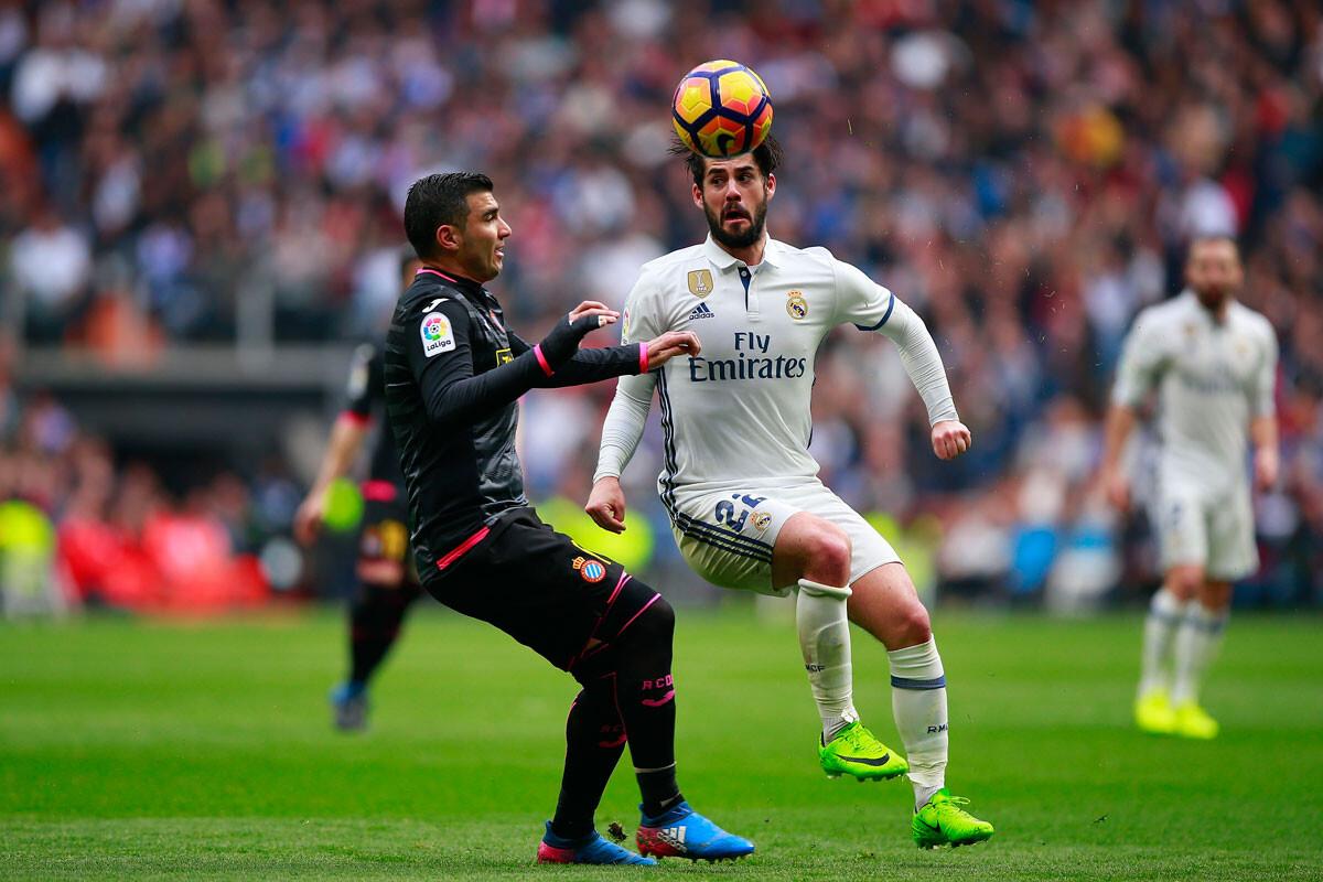 El Real Madrid – Espanyol en imágenes