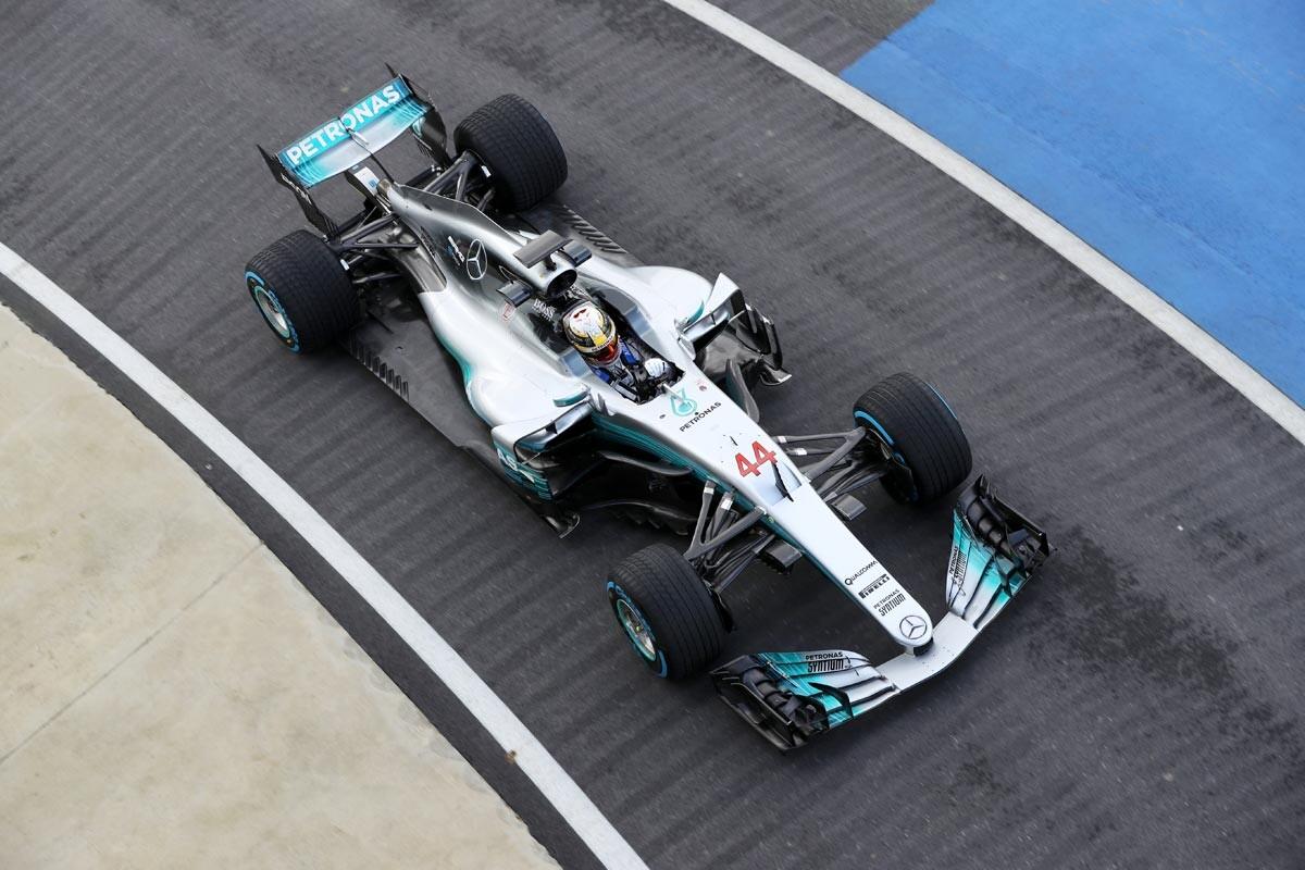 Así es el temible Mercedes W08