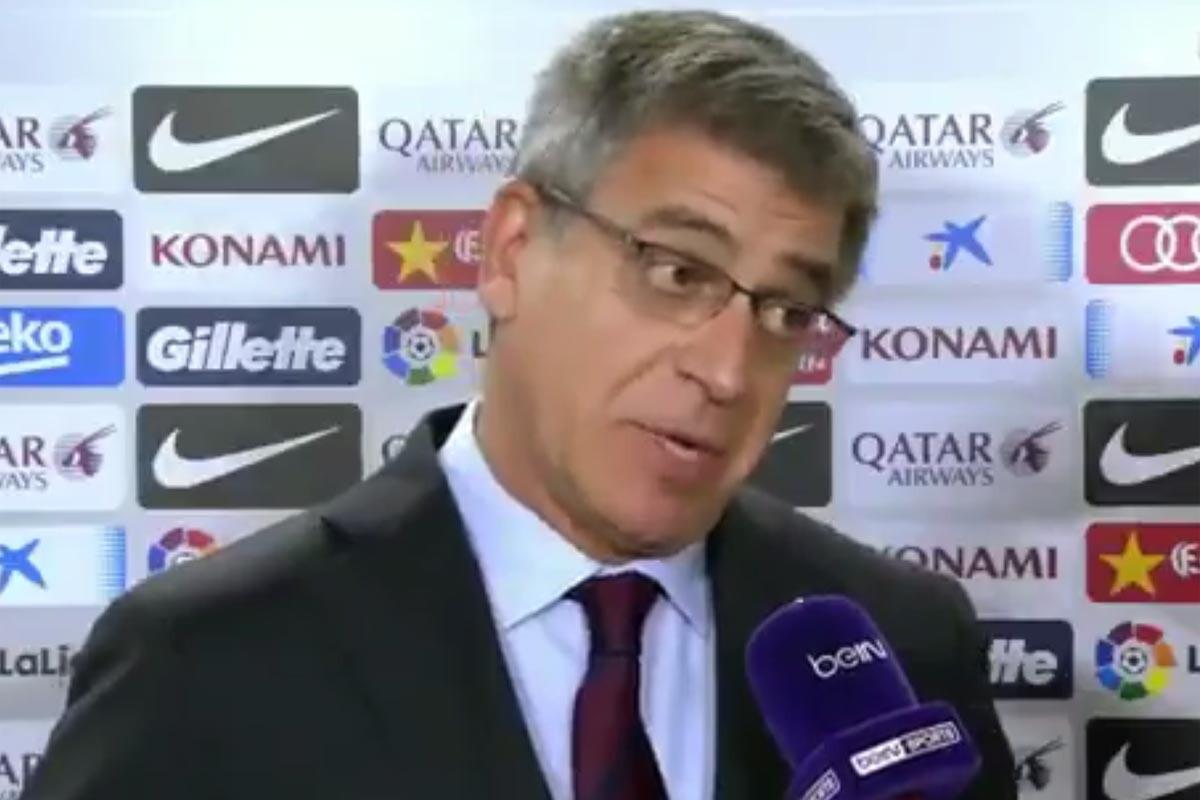 Jordi Mestre, vicepresidente del Barcelona