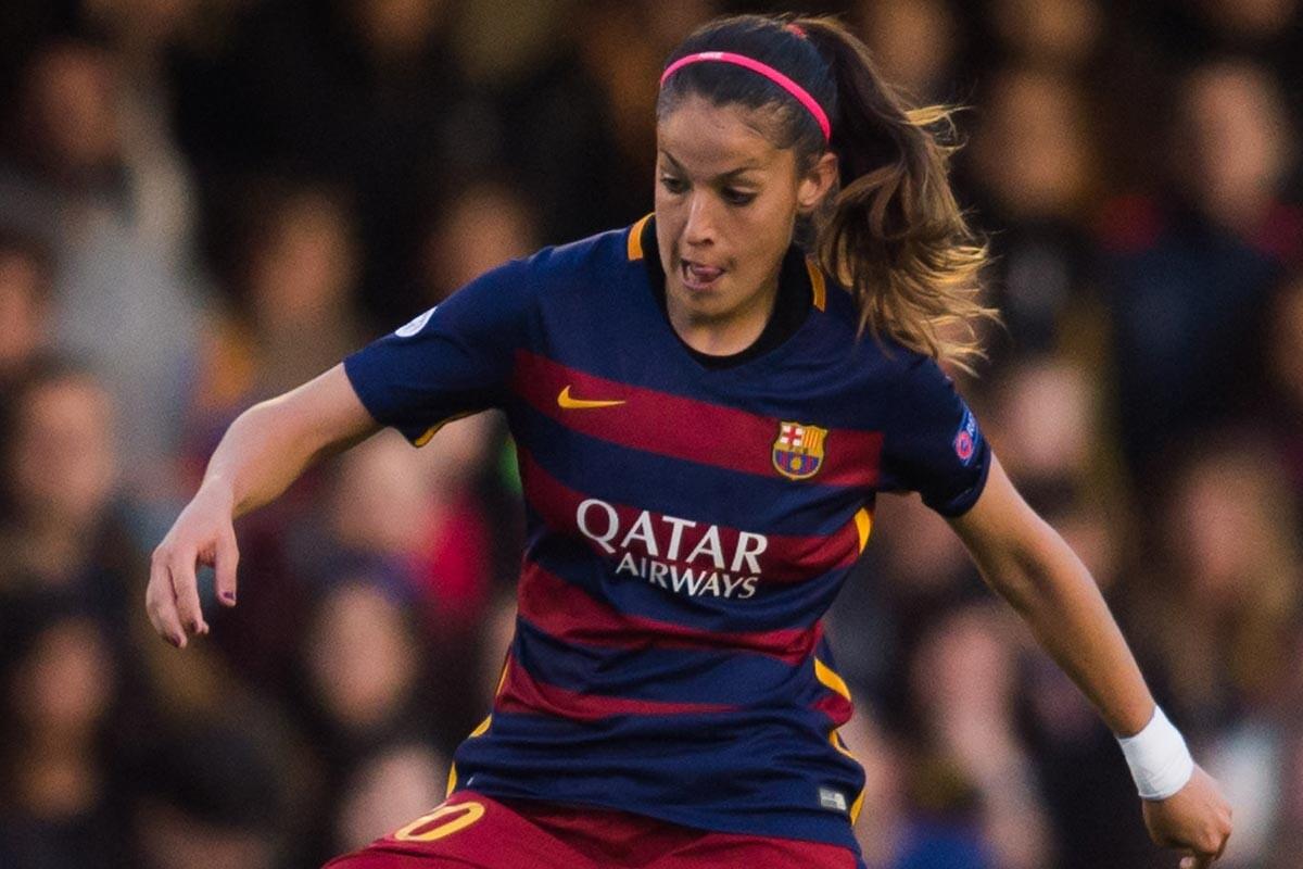 Olga García, delantera del Barcelona