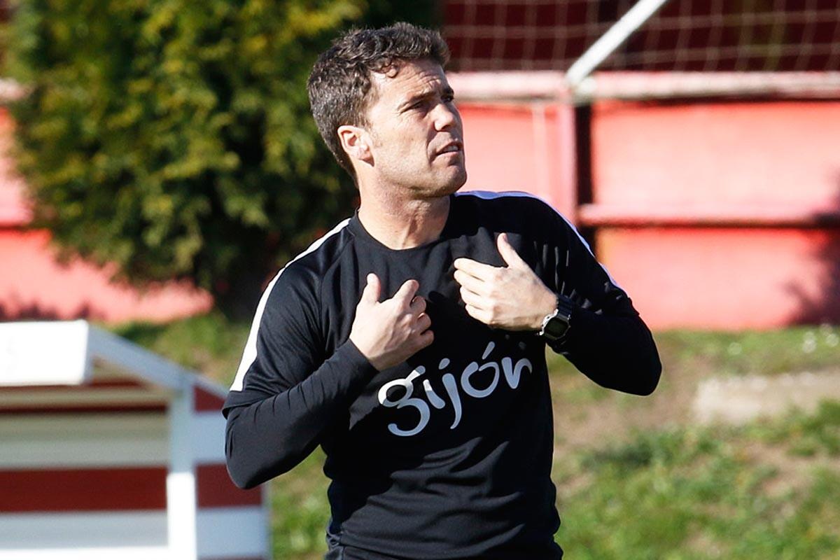 Rubi, entrenador del Sporting