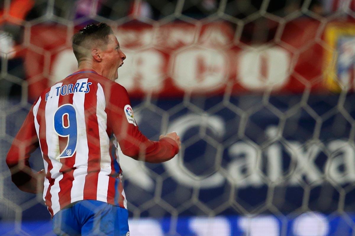 Fernando Torres ante el Leganés