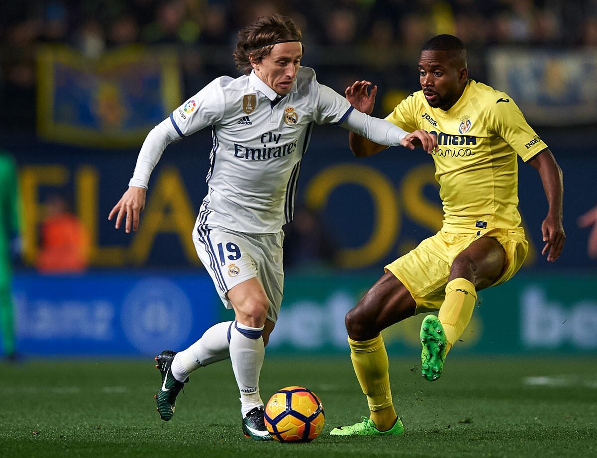 El Villarreal – Real Madrid, en imágenes
