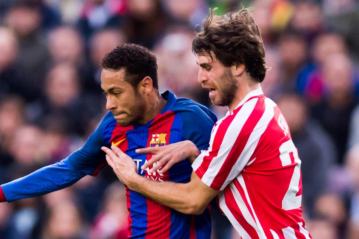 Yeray y Neymar