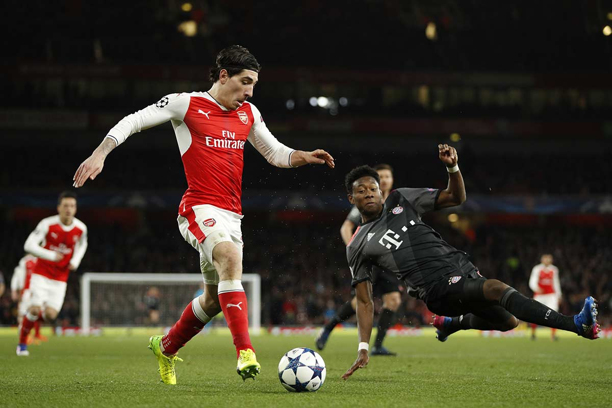 Hector Bellerin, lateral del Arsenal