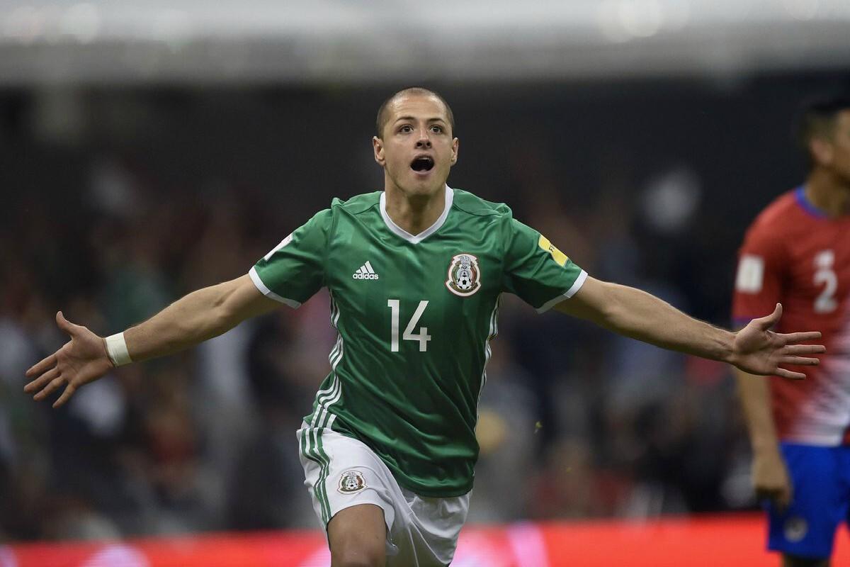 Chicharito Hernández llegó al gol 46 con México