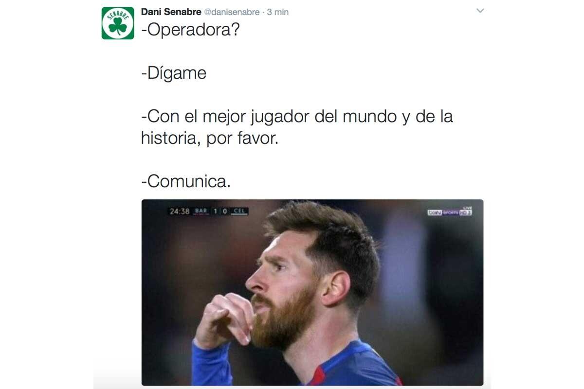 Los mejores memes del Barça-Celta