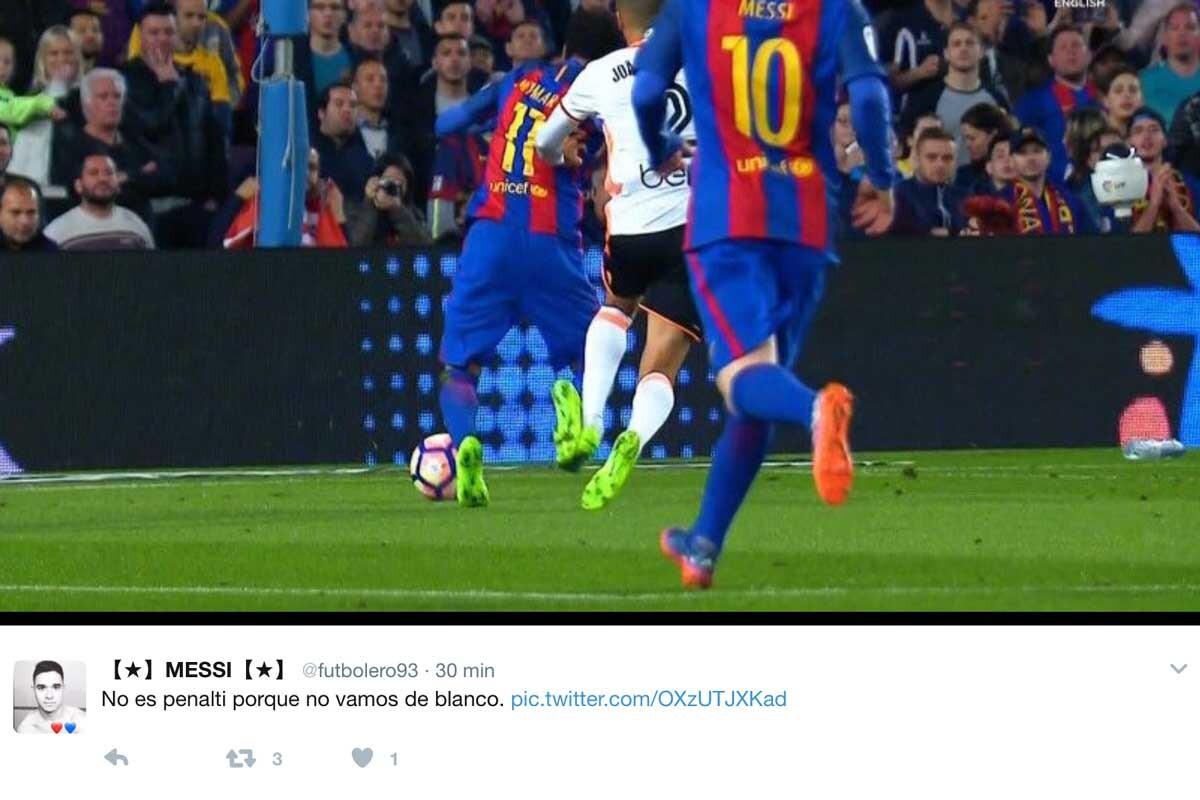 Los mejores memes del Barça-Valencia